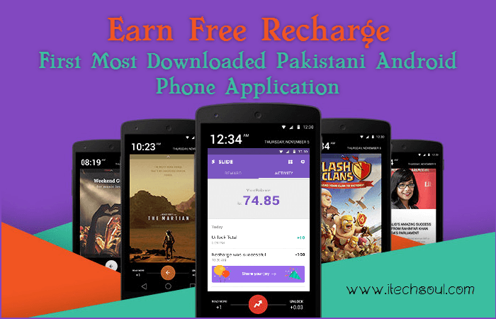 Slide Earn Free Recharge